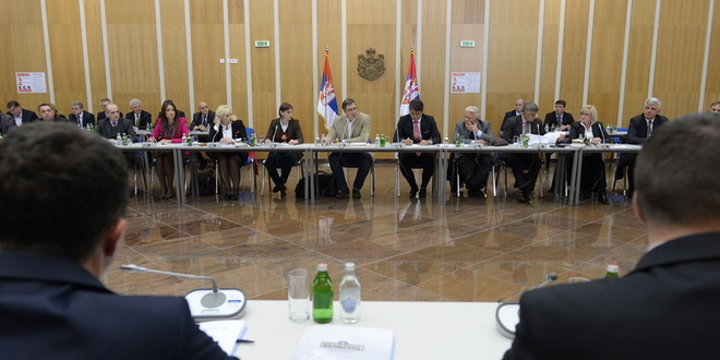 A working meeting with the representatives of the Government of the Republic of Serbia in Niš