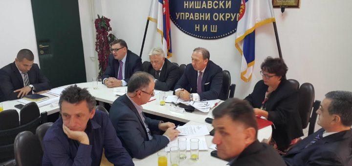 Radni sastanak sa predstavnicima Ministarstva građevinarstva, saobraćaja i infrastrukture