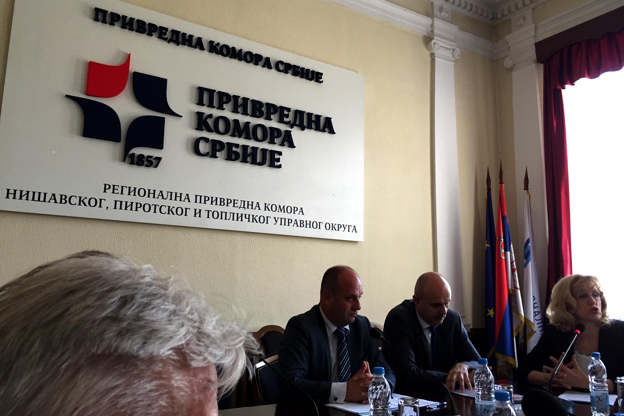 Конститутивна седница Парламента привредника Регионалне привредне коморе Нишавског, Пиротског и Топличког управног округа