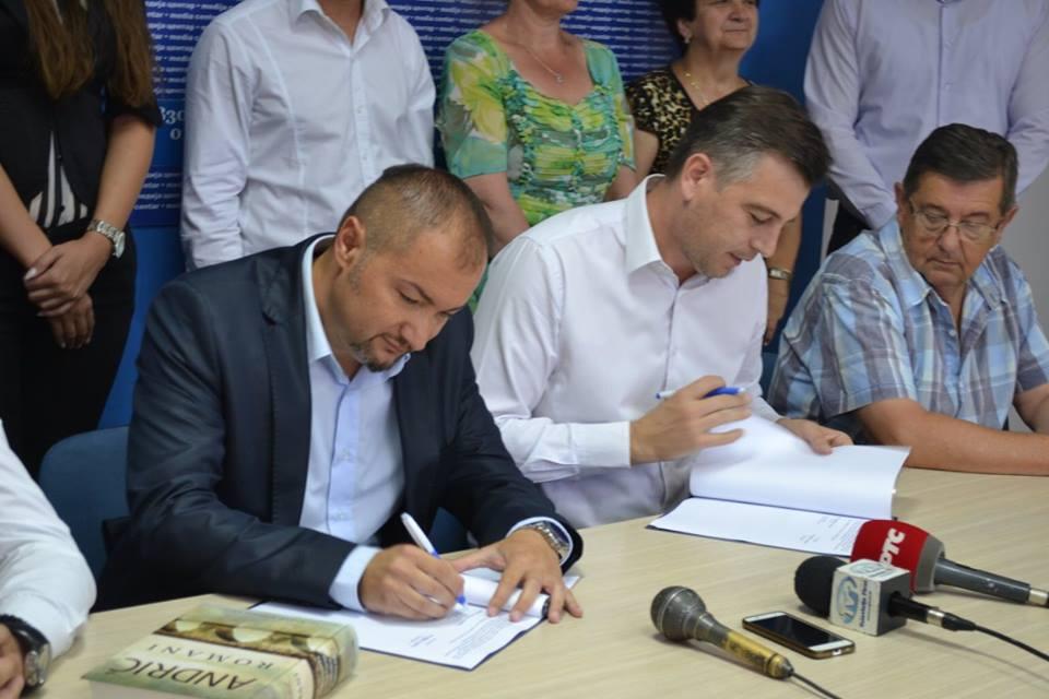 Za dalji rast i razvoj Pirota potpisan koalicioni sporazum