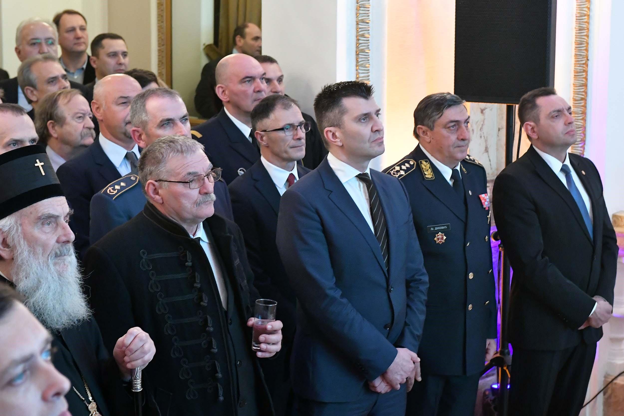 Novogodišnji i božićni prijem u Generalštabu Vojske Srbije