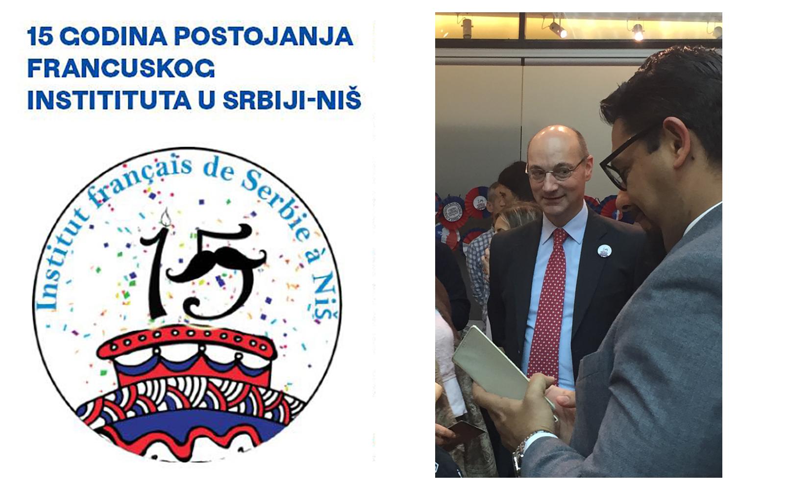 Obeležavanje 15 godina postojanja Francuskog instituta Srbije u Nišu