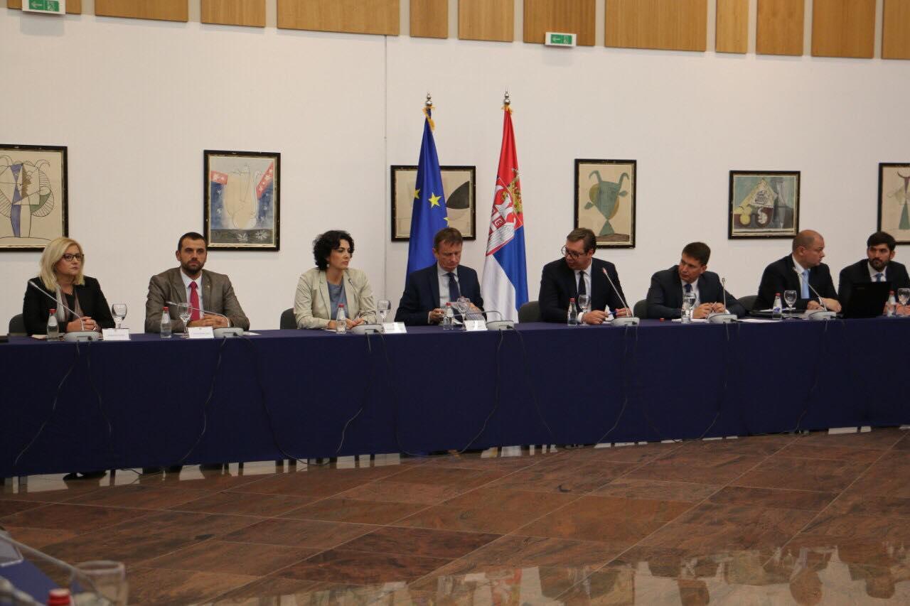 Sastanak sa predsednikom Srbije u Nišu