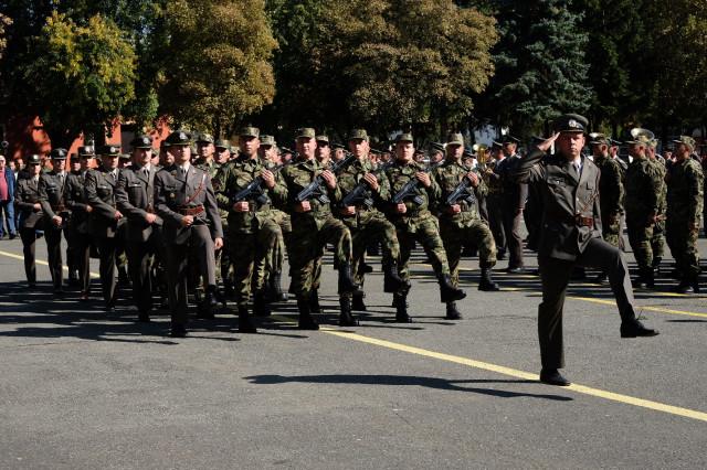 Dan Treće brigade kopnene vojske i primopredaja dužnosti komandanta jedinice