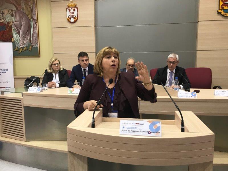 """Druga Međunarodna naučno – stručna konferencija """"Regionalni razvoj i prekogranična saradnja"""""""