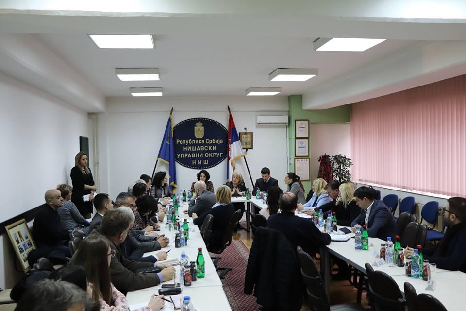 Састанак са министарком Славицом Ђукић Дејановић