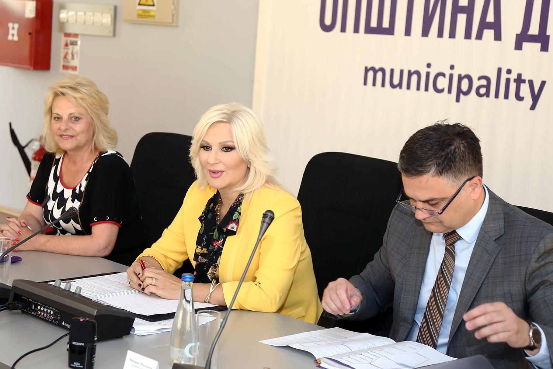 Mihajlovićeva sa načelnicima okruga Srbije