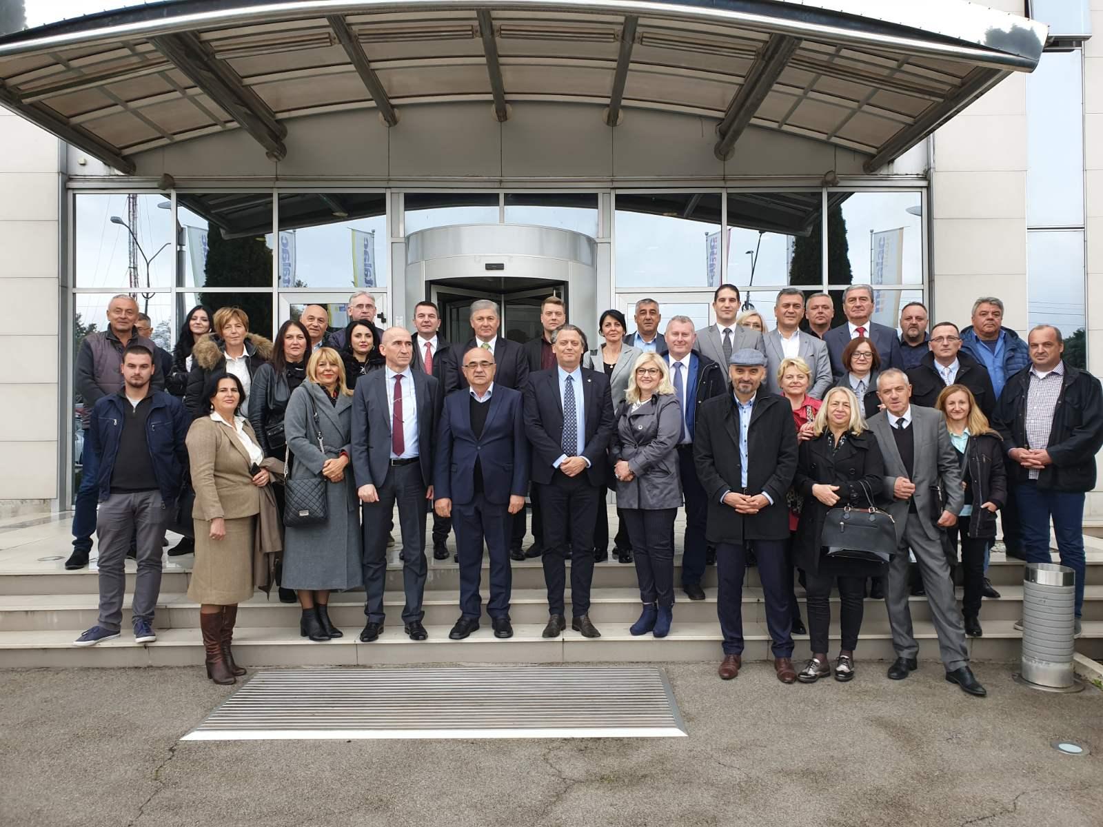 Susret načelnika upravnih okruga i šefova stručnih službi u Moravičkom UO