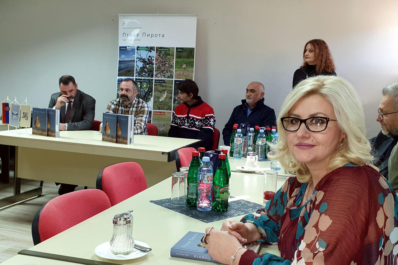 """Promocije  knjige """"Ptice Pirota"""" u kojoj je zabeležena  i  opisana nova vrsta ptice u Srbiji"""