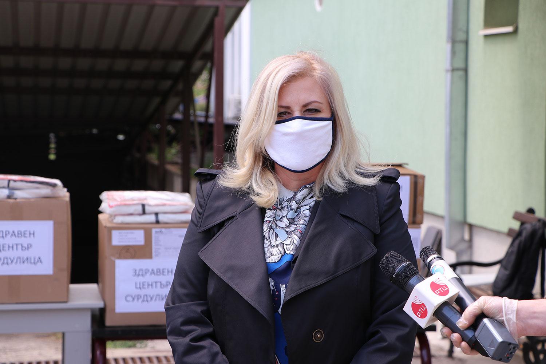 Bugarska donirala medicinsku opremu