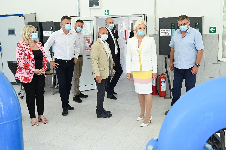 Mihajlovićeva u Pirotu: Komunalna infrastruktura prioritet, ulažemo 3,5 milijardi evra