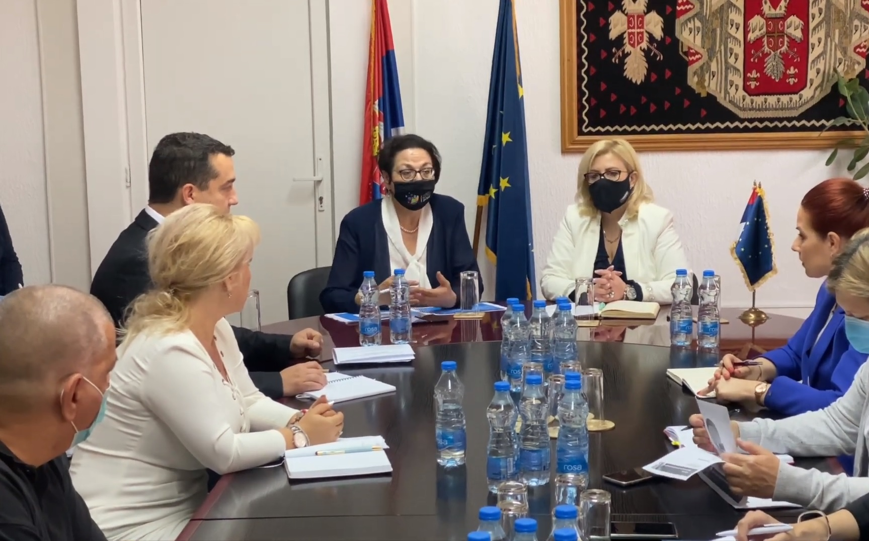 Ministarka Gordana Čomić u poseti Pirotskom upravnom okrugu