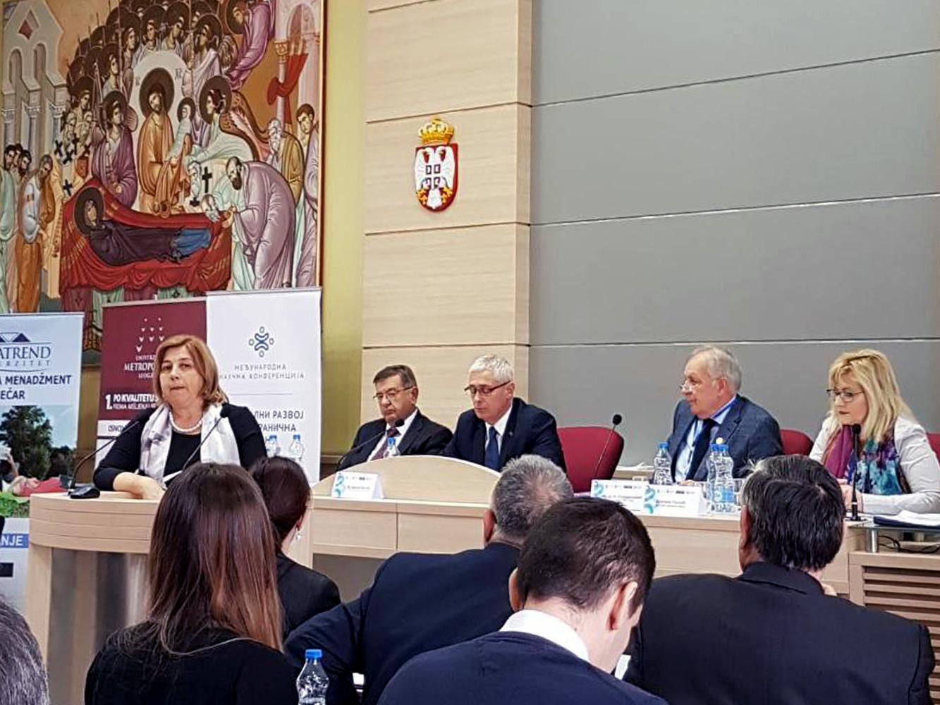 """Međunarodna naučno – stručna konferencija """"Regionalni razvoj i prekogranična saradnja"""""""