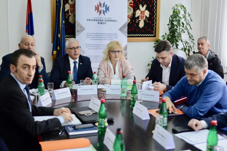 Druga sednica Upravnog odbora i Skupština Ugovorne okružne privredne komore Pirot