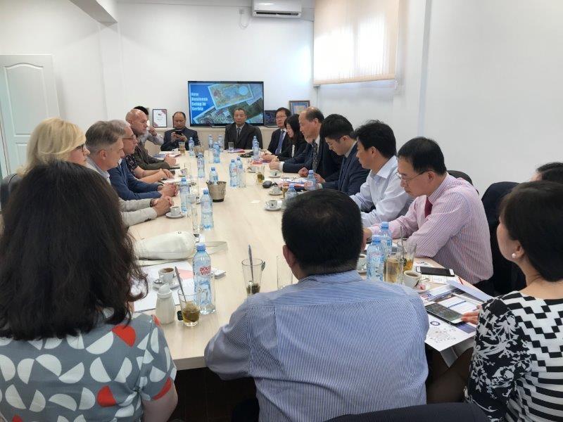 Poseta privredne delegacije iz Šangaja