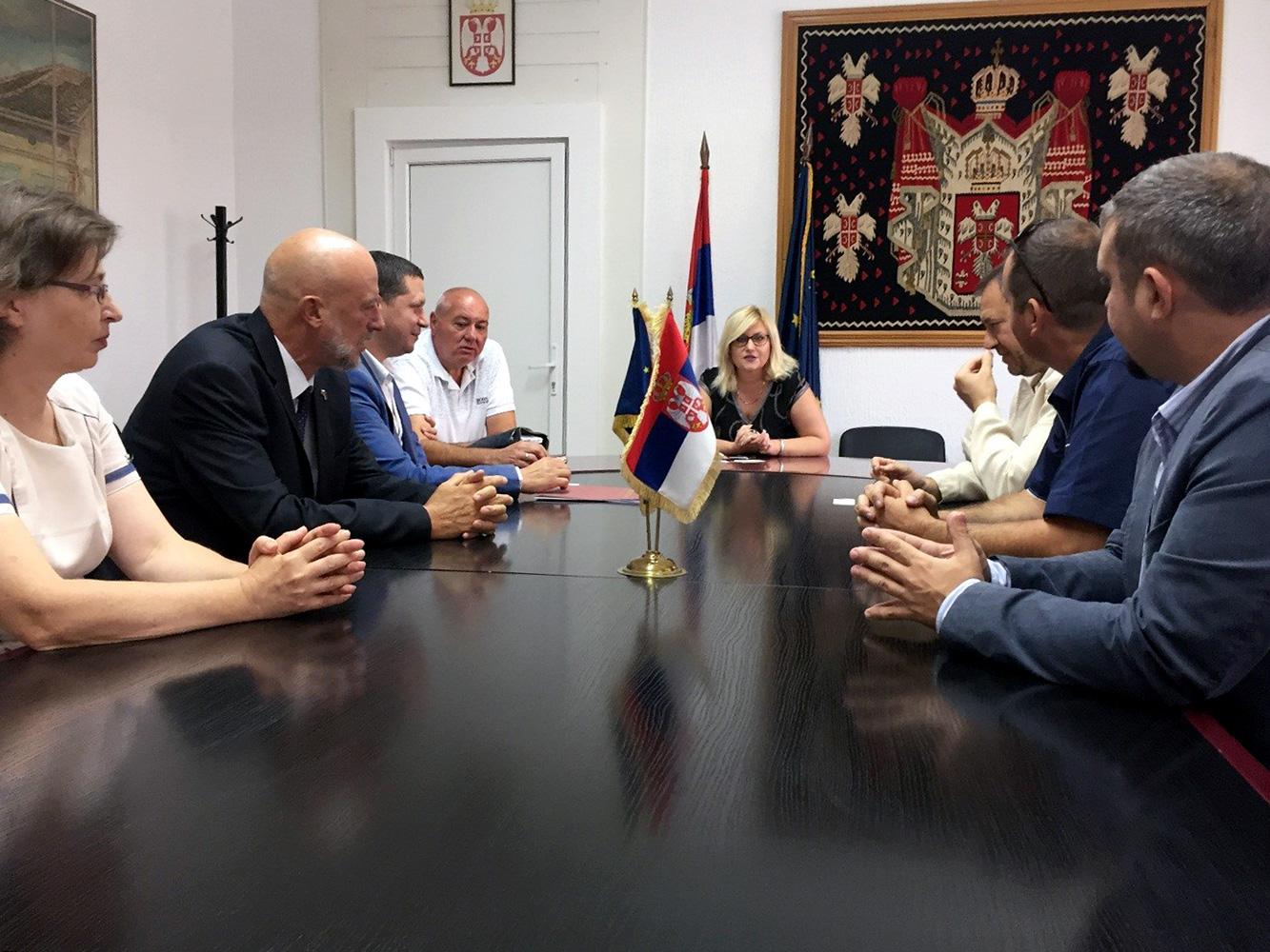 Poseta oblasnog upravnika Sofijske oblati Pirotskom upravnom okrugu