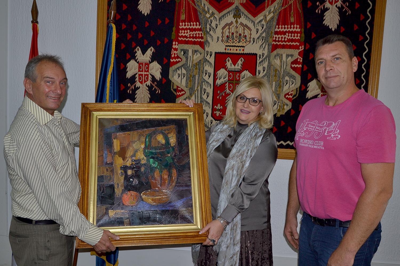 Poseta predstavnika MZ Poljska Ržana okrugu