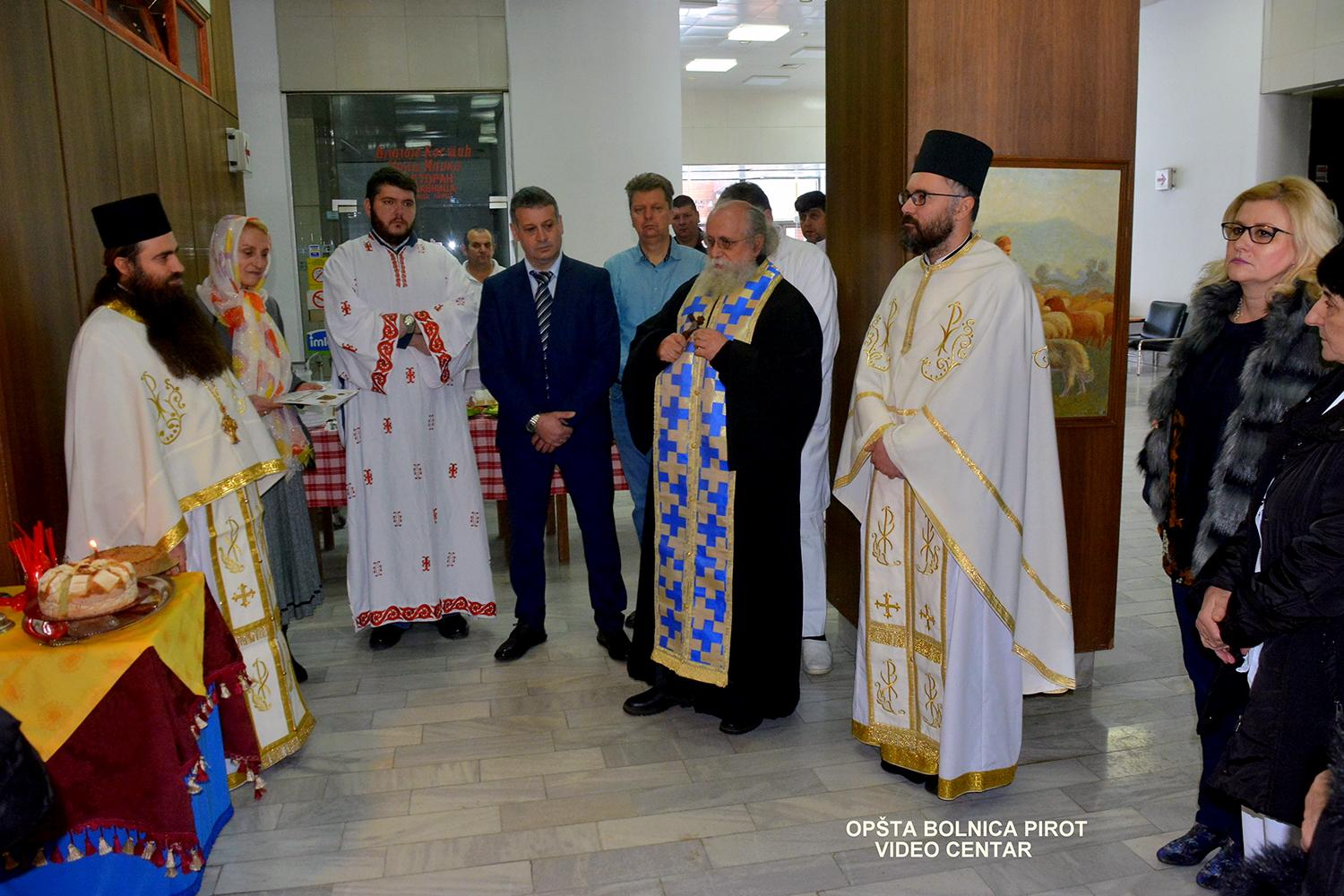 Osveštena kapela Sveti Kozma i Damjan u Opštoj bolnici