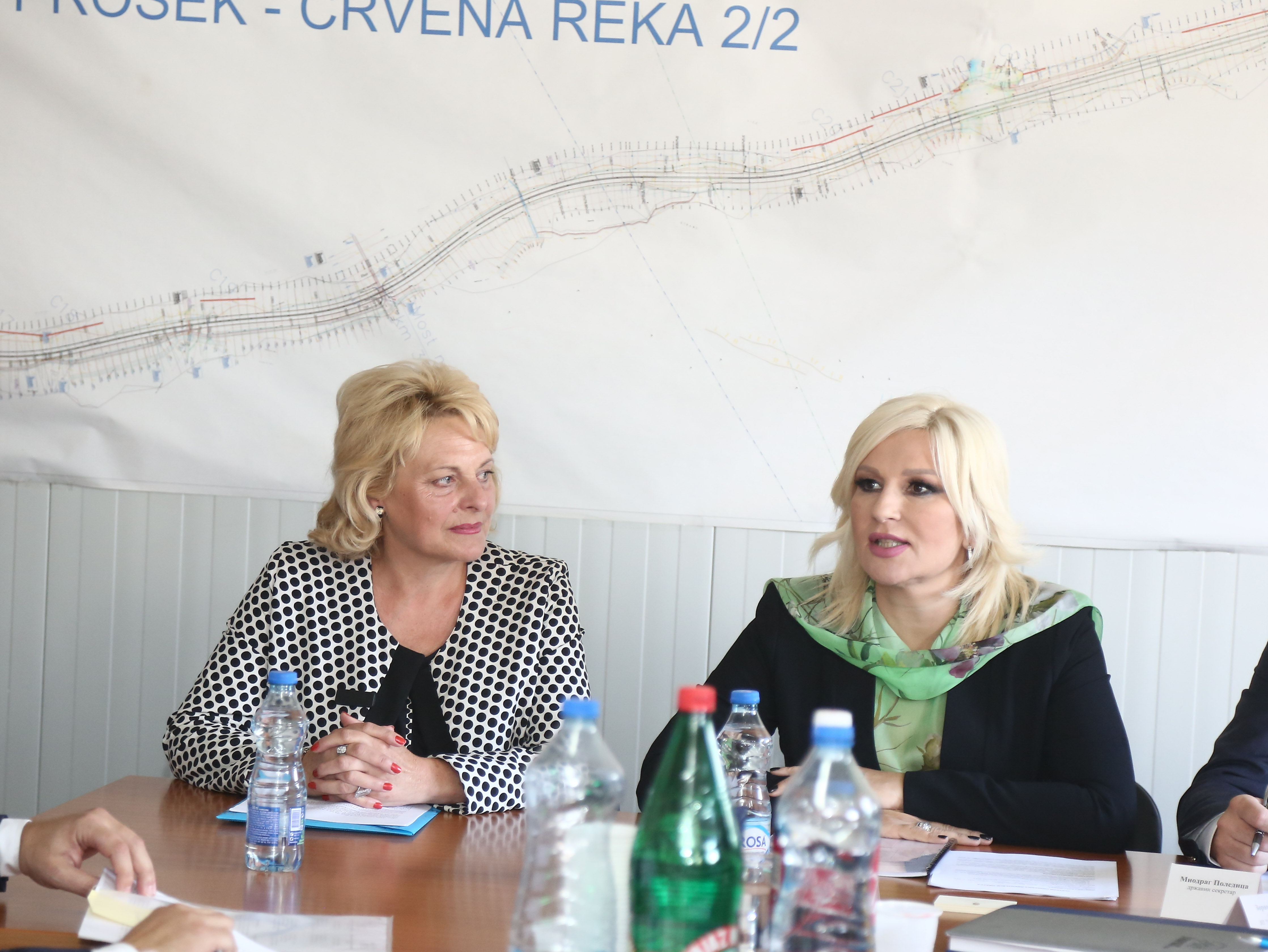 Zorana Mihajlović u Pirotskom okrugu
