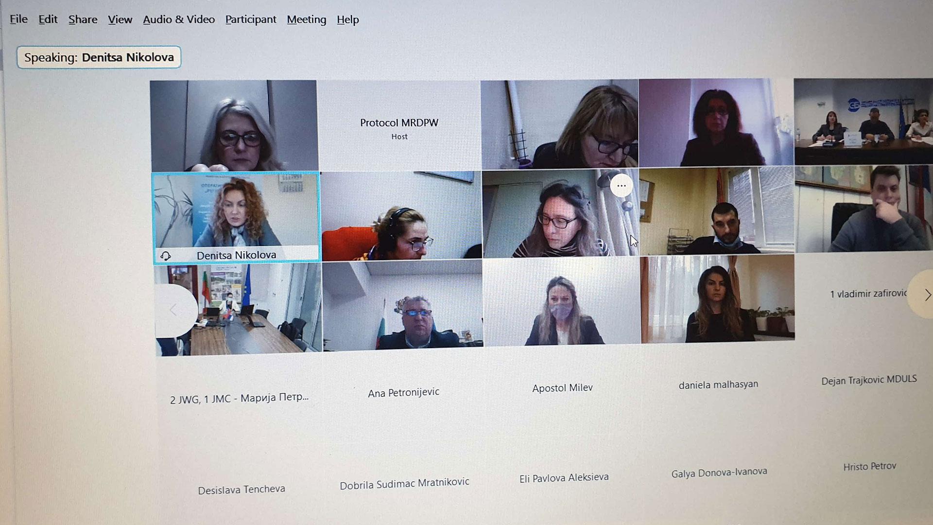 Zajednička radna grupa za programiranje (Join Working Group – JWG)