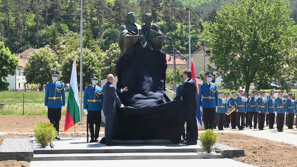 Svečano otkriven spomenik Sveti Kirilu i Metodiju u Dimitrovgradu